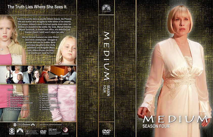 Medium Seizoen 4 Dvd 4